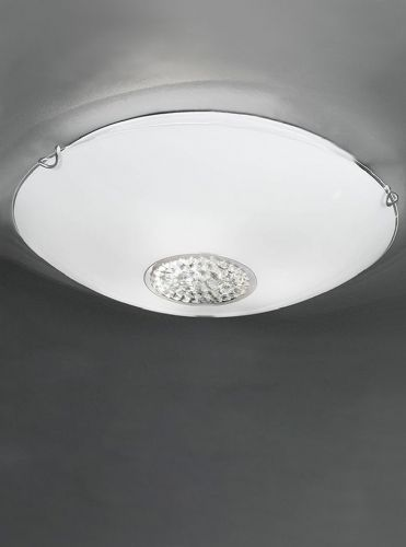 Franklite CF5730 Chrome Ceiling Light